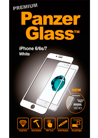 Panzerglass Premium iPhone 6/6s/7/8 White