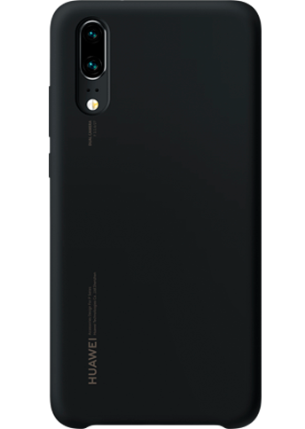 Huawei P20 Pro Silicon Case Black