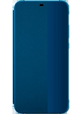 Huawei P20 Lite Flip Cover Black