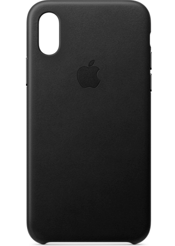 Apple iPhone Xs Leather Black