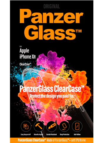 PanzerGlass Apple iPhone XR Clear Cover
