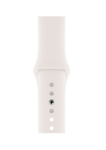40mm White Sport Band for AW