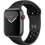 Apple Watch Series 5 - 44MM Alu Case Space Grey - Nike Edition - 4G