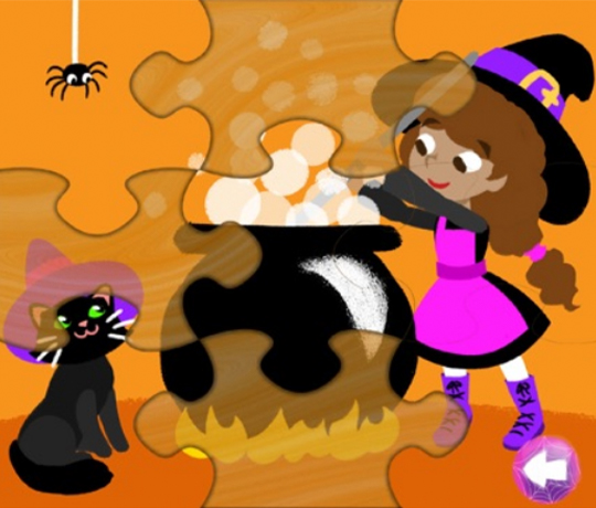 Halloween Puzzle, +3 år
