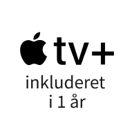 Apple TV+ inkluderet
