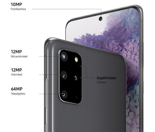 Samsung Galaxy S20+: En mobil i topklasse