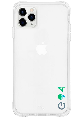 Case-Mate Eco94 Iphon XS/11Pro Max Clear
