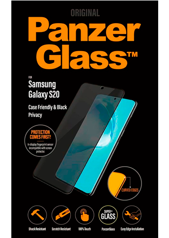 PanzerGlass Privacy S20 Case Friendly