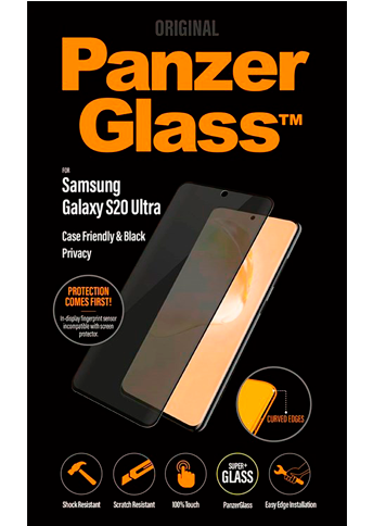 PanzerGlass Privacy S20 Ultra Case Friendly