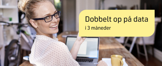 Mobilt internet: Få dobbelt så meget business and pleasure.