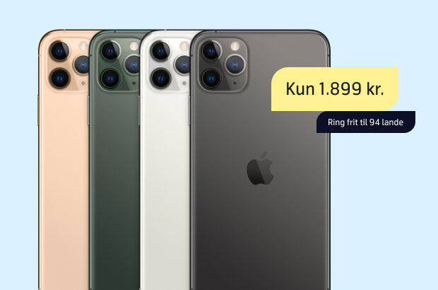 iPhone 11 Pro - topmodel til god pris