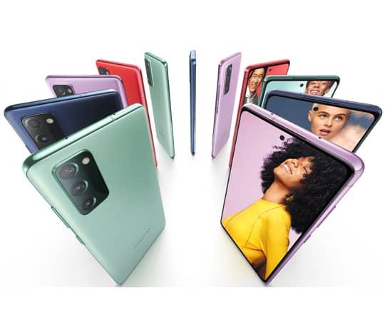 Samsung Galaxy S20 SE: Den smarte premium-mobil