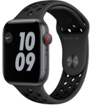 Apple Watch SE - 44mm Space Gray Aluminium Case - Anthracite/Black Nike Sport Band - Nike Edition - 4G