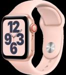 Watch SE - 40mm Gold Aluminium Case -  Pink Sand Sport Band - 4G