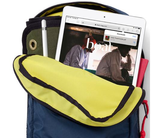 Tag iPad med dig overalt – Den kan holde til det