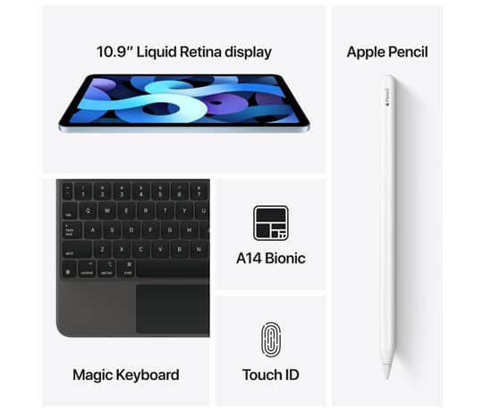 iPad Air: Farvestrålende fantastisk i enhver situation