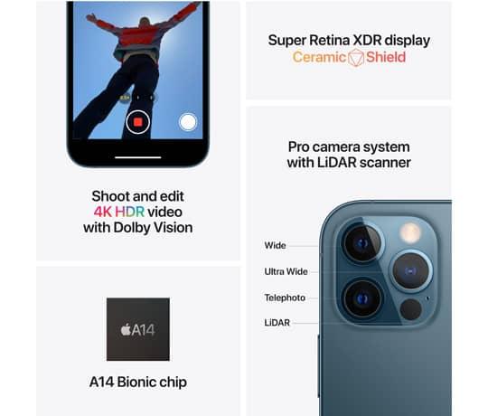 iPhone 12 Pro til erhverv