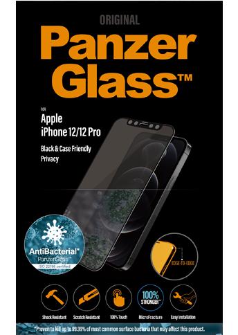 PanzerGlass iPhone 12 / 12 Pro CaseFriendly Privacy