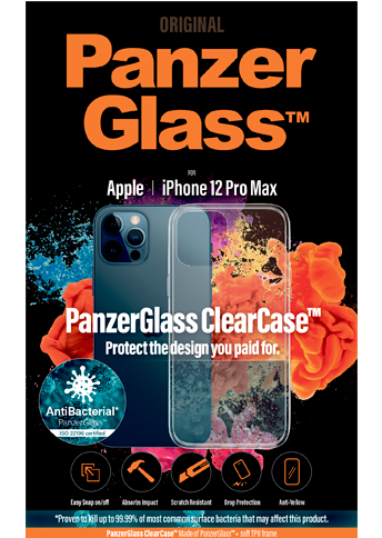 PanzerGlass ClearCase iPhone 12 Pro Max