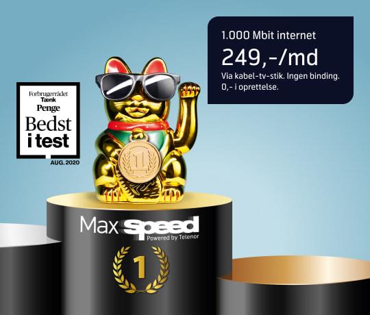 Gi' dit internet hurtigbriller på