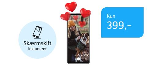 Skarp kontantpris på Samsung Galaxy A41