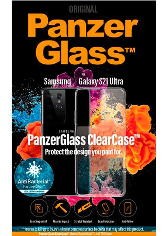 PanzerGlass ClearCase Samsung S21 Ultra