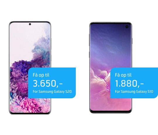 Få penge for din gamle mobil