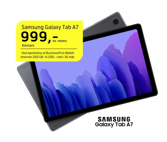 Tilbud på Samsung Galaxy Tab A7