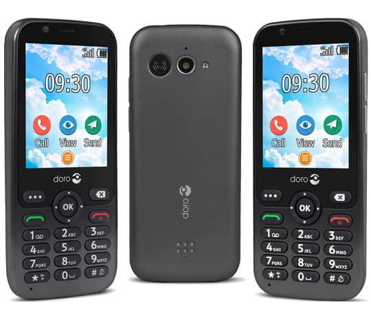 Smart klassisk mobiltelefon med WhatsApp og Facebook