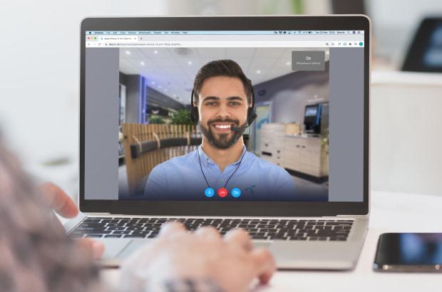 Telenor Live Shopping: Personlig vejledning via video