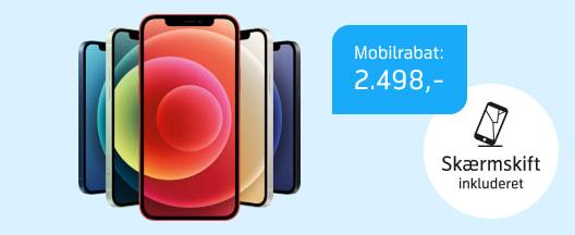 Danmarks billigste iPhone 12