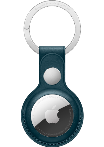 AirTag Leather Key Ring