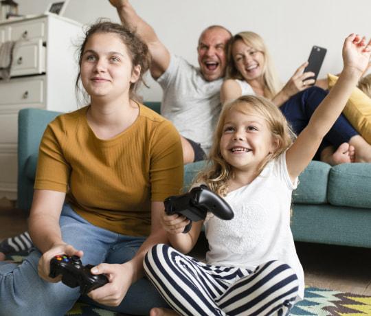 Bredbånd – Trådløst internet for hele familien