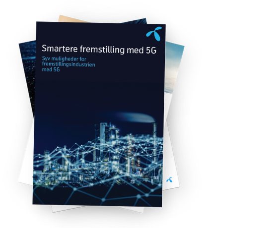 Whitepaper om 5G's potentiale i fremstillingsindustrien