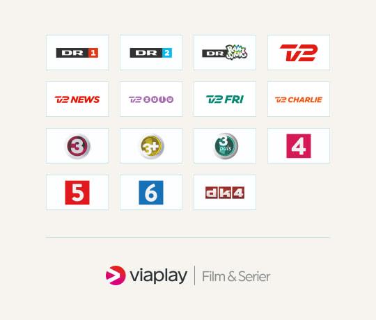 De 15 bedste basis-kanaler plus Viaplay Film & Serier