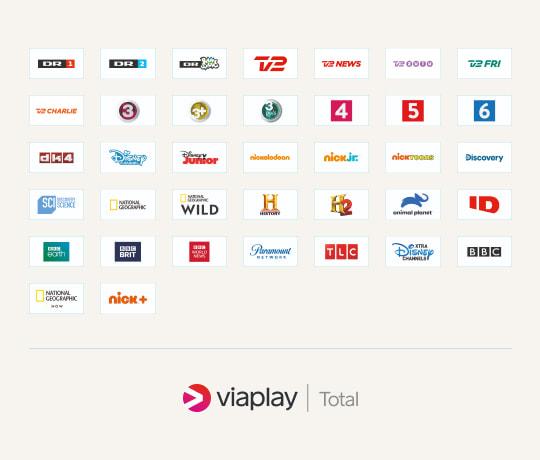TV med All inclusive: 37 kanaler i topklasse plus Viaplay Total