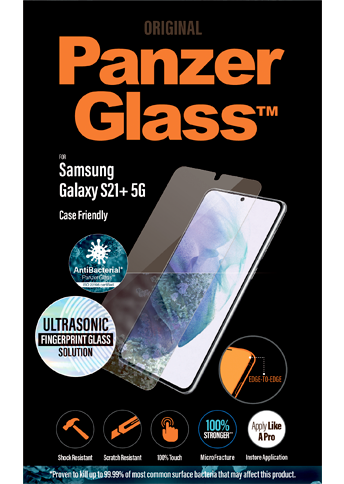 PanzerGlass Samsung S21+ Case Friendly
