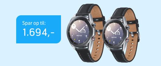 God pris på Samsung Galaxy Watch 3