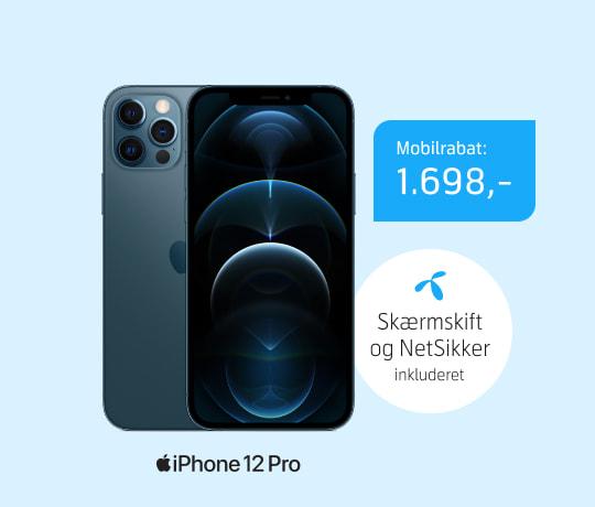 Sommerpris på iPhone 12 Pro