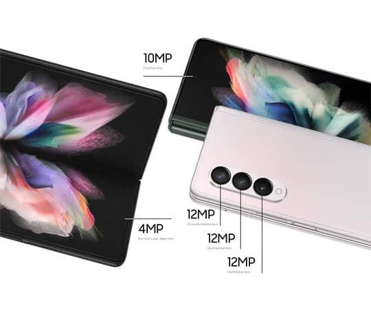 Galaxy Z Fold3: Et kamera til enhver anledning