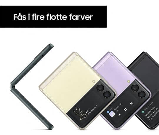 Fire farver at vælge imellem