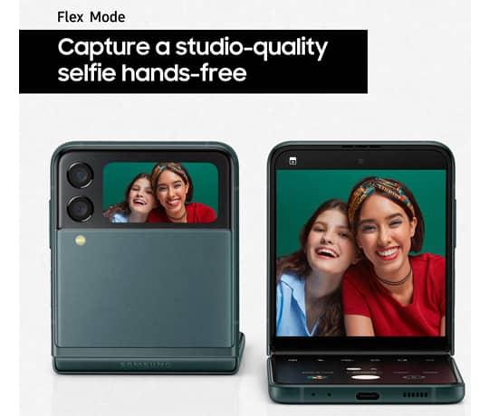 Håndfri selfies