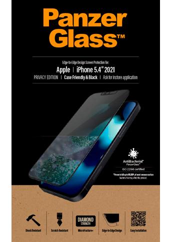 PanzerGlass iPhone 13 Mini Case Friendly Privacy