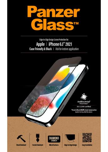 PanzerGlass iPhone 13 /13 Pro Case Friendly