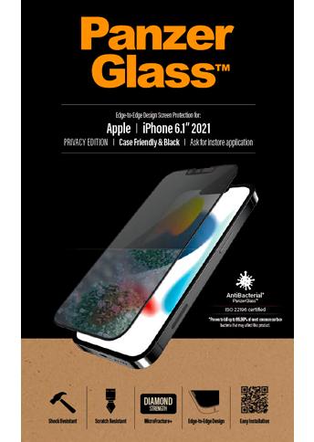 PanzerGlass iPhone 13 / 13 Pro Case Friendly Privacy