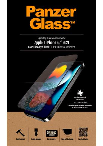 PanzerGlass iPhone 13 Pro Max Case Friendly