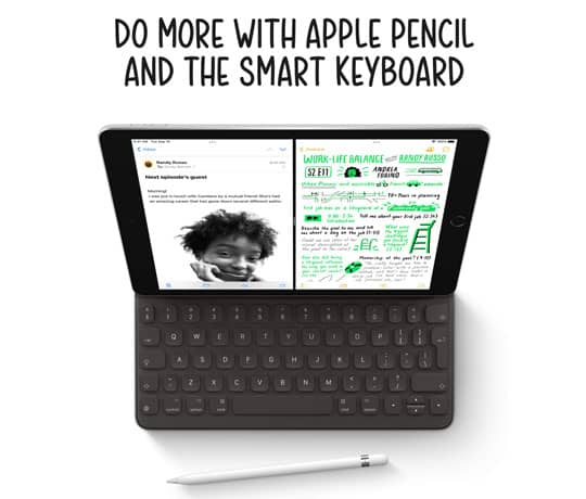 Ny iPad. Nu med endnu mere at holde af.