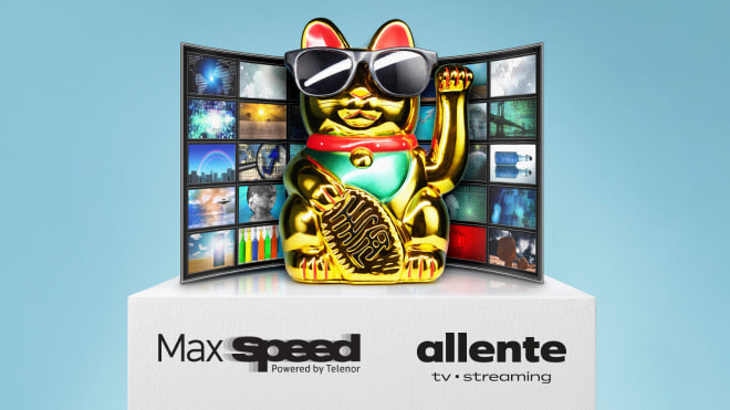 Nyhed: Få TV sammen med MaxSpeed internet