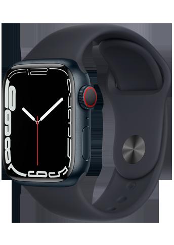 Apple Watch 7 – 41mm – Midnight Aluminium Case – Midnight Sport Band – 4G