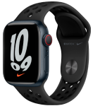 Watch 7 – 41mm – Midnight Aluminium Case – Anthracite/Black Nike Sport Band – Nike Edition -4G